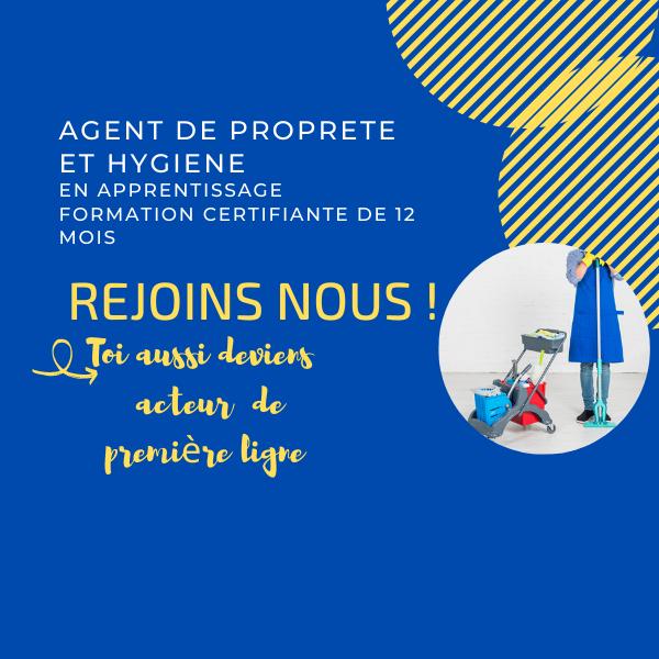 Formation certifiante en apprentissage aux métiers de l'hygiène